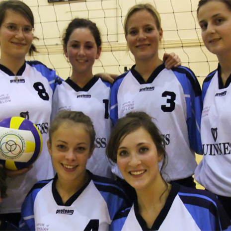 Volleyballerinnen